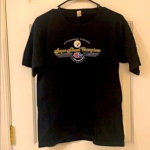 Steeler Super bowl champs T-shirt.